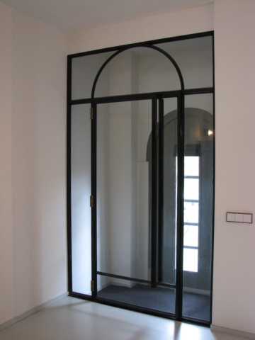 stalen glazen deur deuren De Zonnekamer